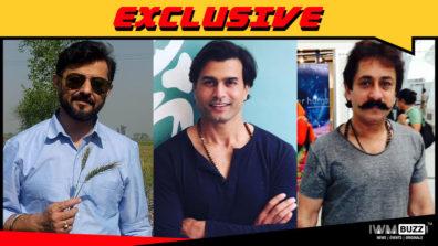 Yajuvendra Singh, Shivendra Om Sanyol and Deepak Chaddha in Star Plus' Karn Sangini