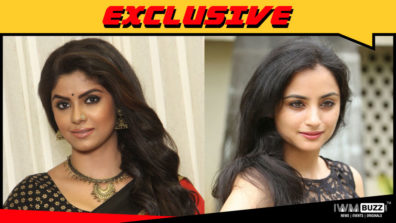 Sayantani Ghosh and Madirakshi Mundle in Star Plus' Karan Sangini