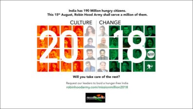 #MissionMillion2018 - Building a hunger-free India