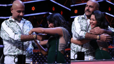 Moment of love on Indian Idol 10