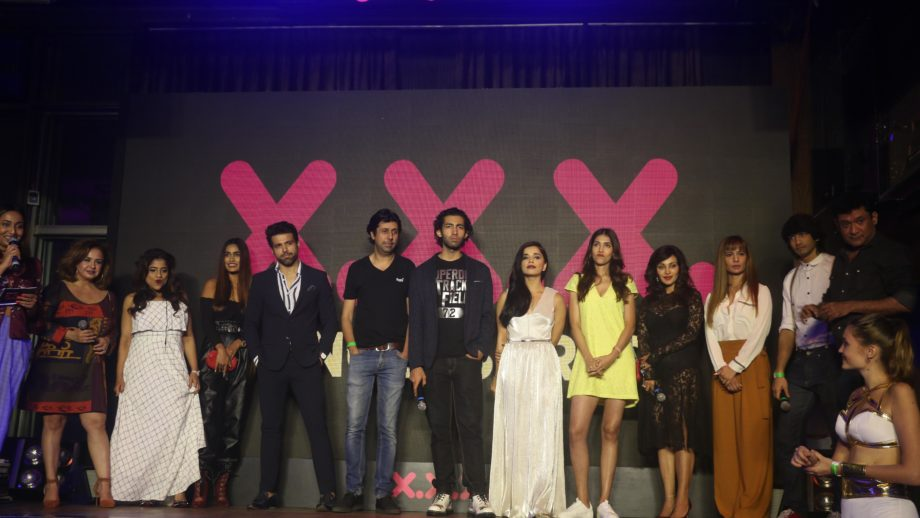 Shantanu Maheshwari, Ritvk Dhanjani,Kyra Dutt and others names' turn up the heat at XXX trailer launch