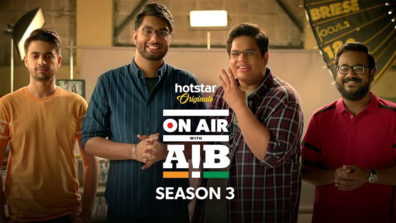 On Air with AIB Season 3 returns on Hotstar