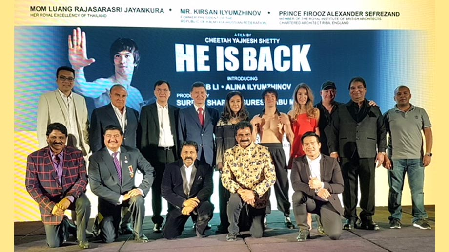 Bruce Lee is back in a new film 'He is Back'  launched in Dubai