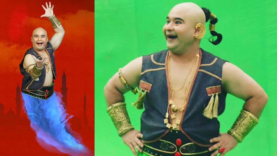 I was very clear of shaving off my head to play the genie in Aladdin: Raashul Tandon