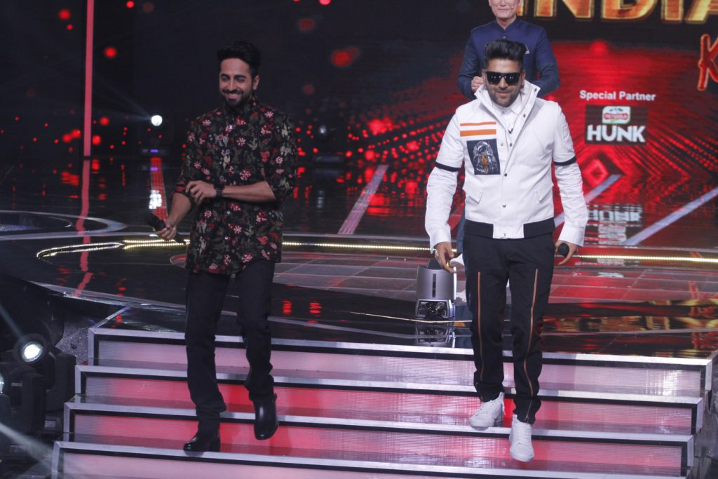 Ayushman Khurrana and Kajol present as guest judges on &TV's Love Me India