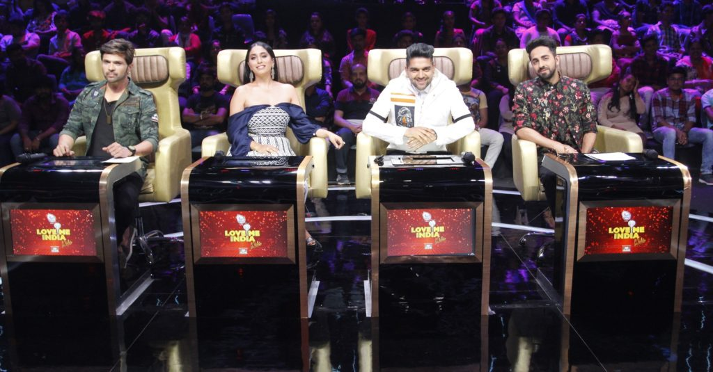 Ayushman Khurrana and Kajol present as guest judges on &TV's Love Me India 2