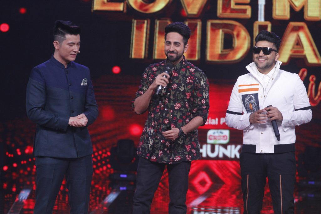 Ayushman Khurrana and Kajol present as guest judges on &TV's Love Me India 3