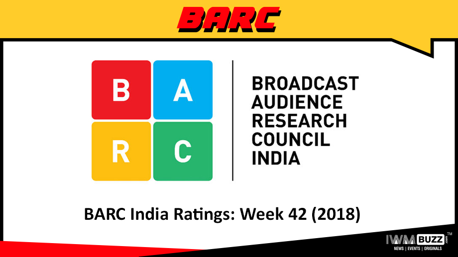 BARC India Ratings: Week 42 (2018)