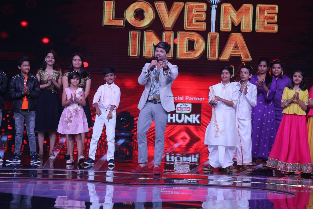 On the sets of &TV's Love Me India 9