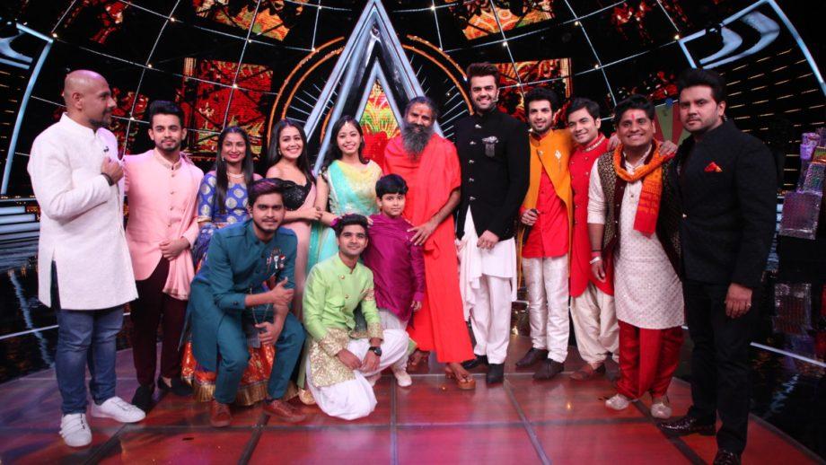 Ramdev Baba, Jawed Ali and Bappi Lahiri join Diwali special episode on Indian Idol 10 7