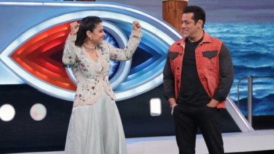 Kajol with Salman Khan in Bigg Boss 12 2