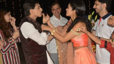 Mohsin Khan's birthday celebration on the set of Yeh Rishta Kya Kehlata Hai 5