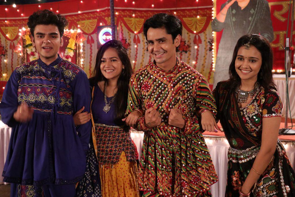 Sameer-Naina enjoy Navratri festival in Yeh Un Dinon Ki Baat Hai 3
