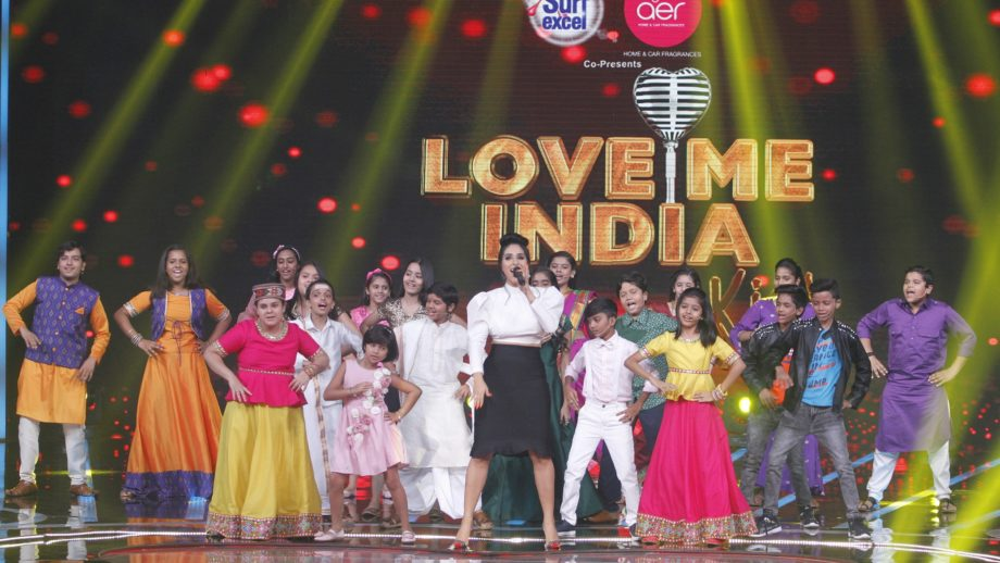 On the sets of &TV's Love Me India 12