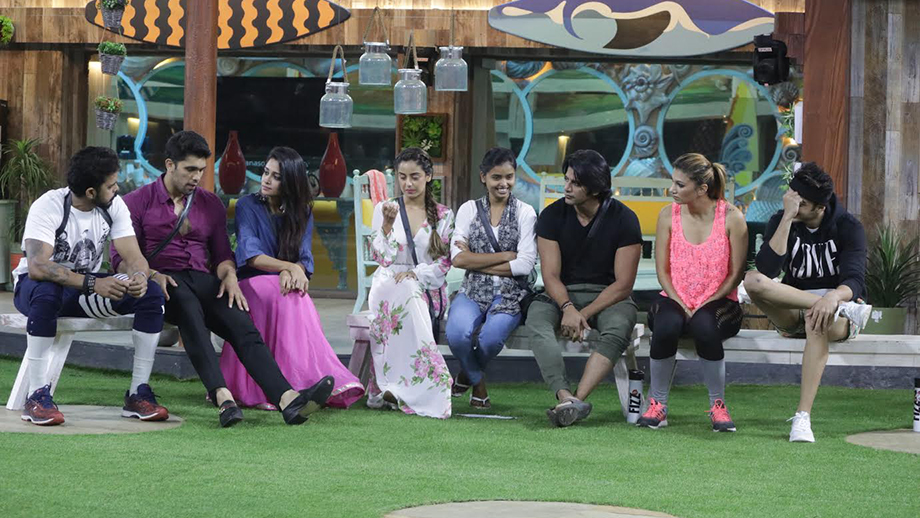 Contestants gear up and decide toprove their mettle to survive in the game