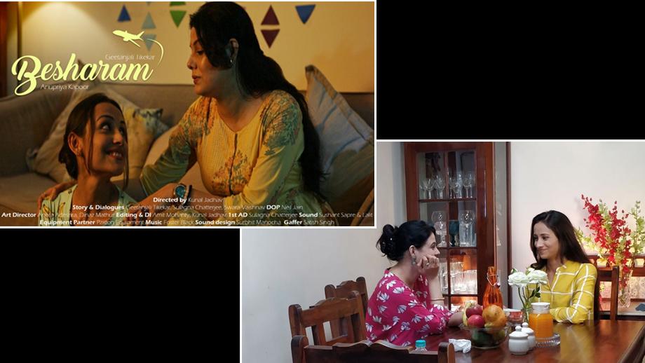 Actress Geetanjali Tikekar turns Producer; comes up with the short film 'Besharam'