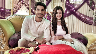 Samrat-Aadhya's engagement drama in Colors' Internet Wala Love 1