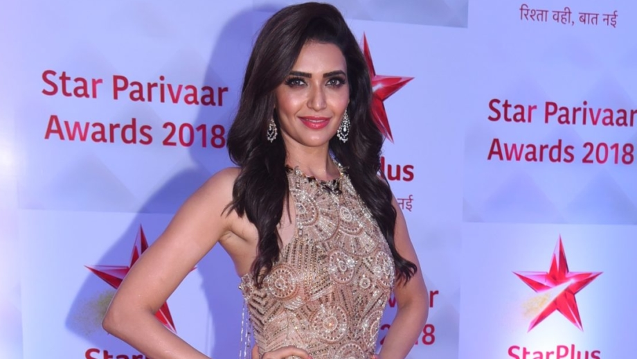Karishma Tanna thanks Ekta Kapoor in a heartfelt speech at Star