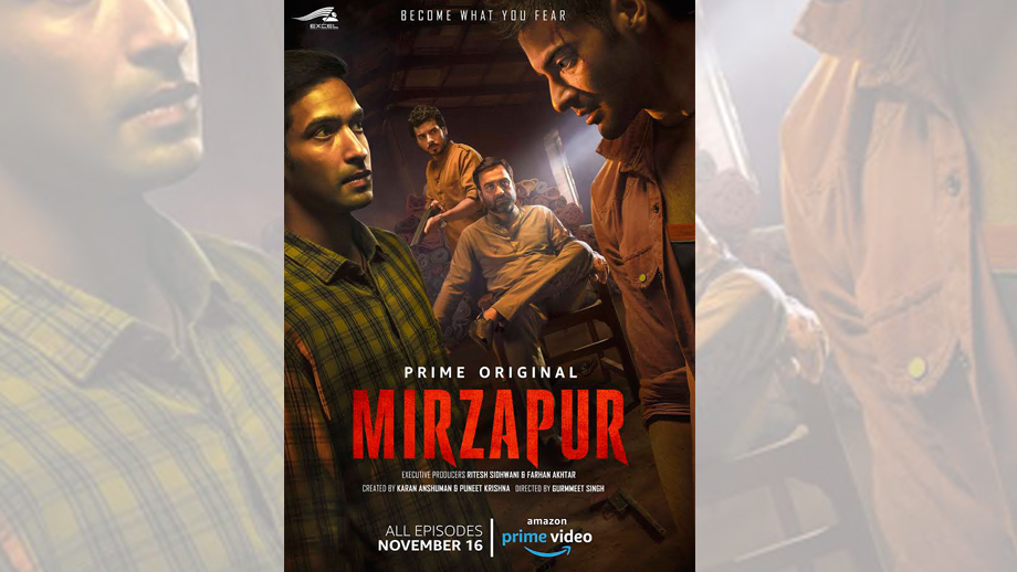 Amazon Prime Video India and Excel Media & Entertainment release the trailer of Mirzapur