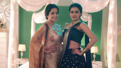 Actresses Monalisa and Sonyaa put on their dancing shoes