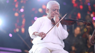 Pyarelal's large orchestra to create nostalgia in Indian Idol 10
