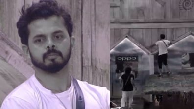 Sreesanth tries to escape from the Bigg Boss house again