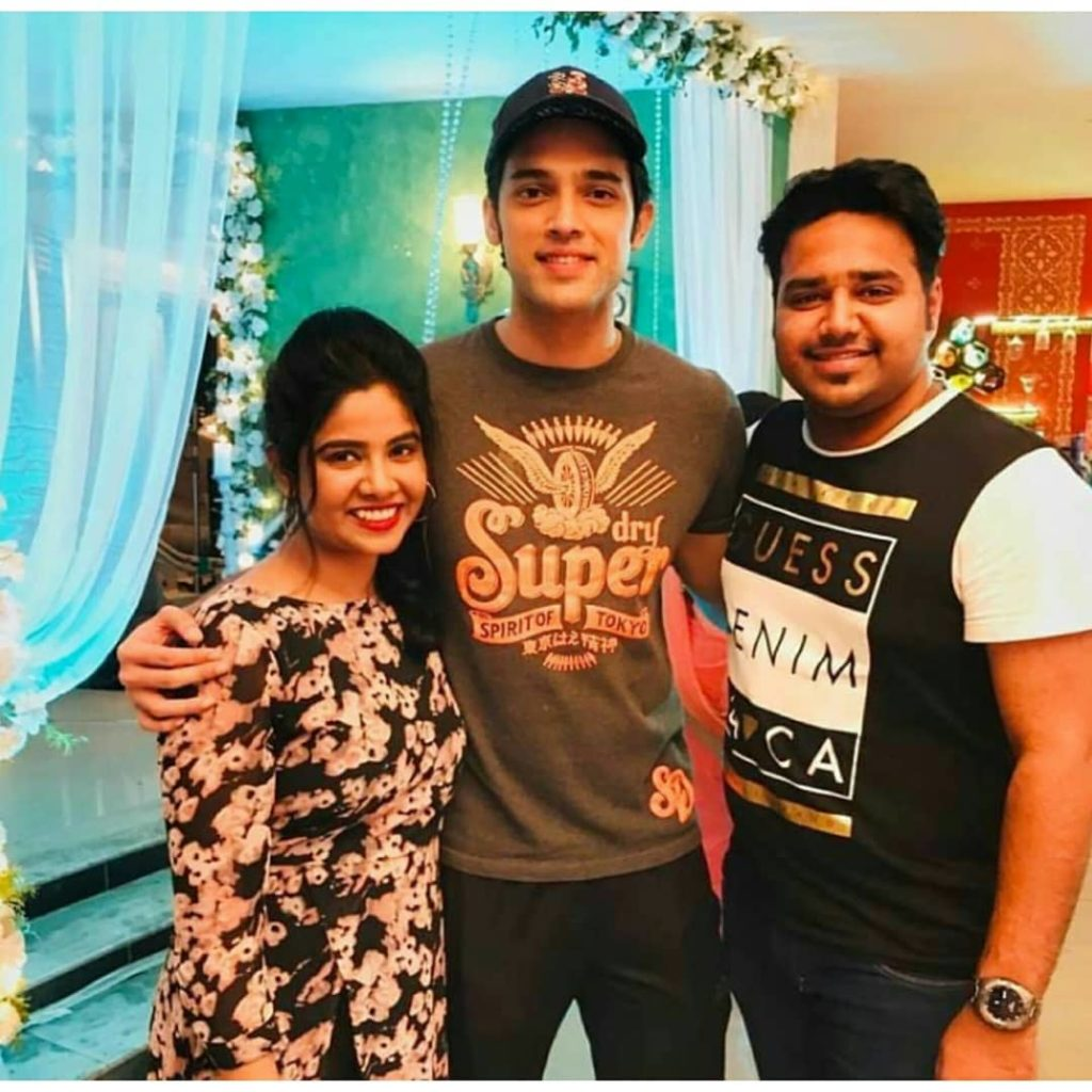 Erica Fernandes' family visits the sets of Kasautii Zindagii Kay 2
