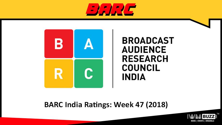 BARC India Ratings: Week 47 (2018); Star Plus soars to #1 slot