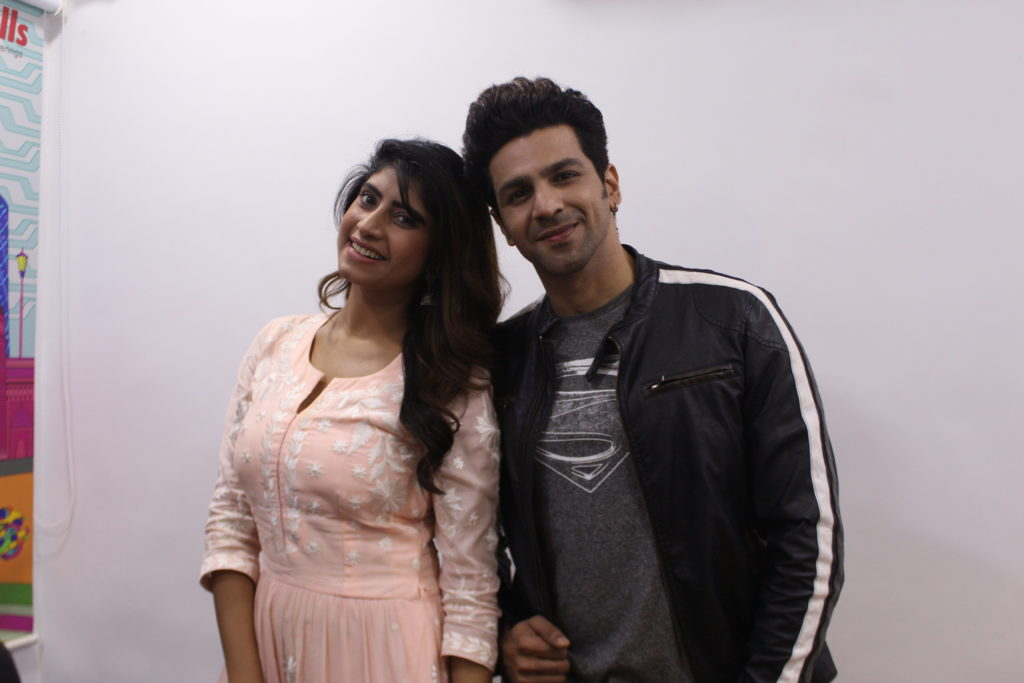 Neel Motwani and Vindhya Tiwari enjoys Live session with IWMBuzz