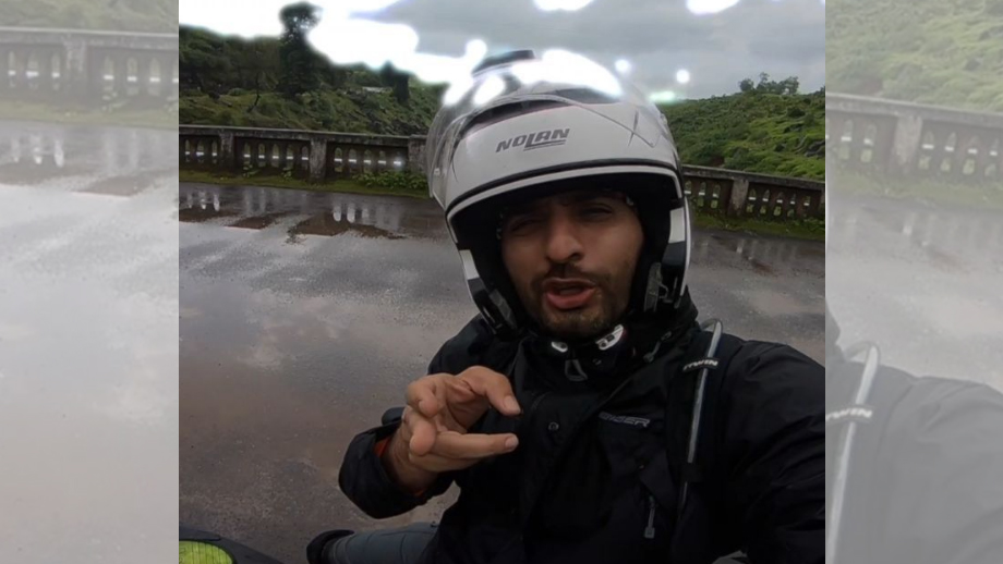 Biker Siddhant Karnick takes a one month solo trip on his new bike