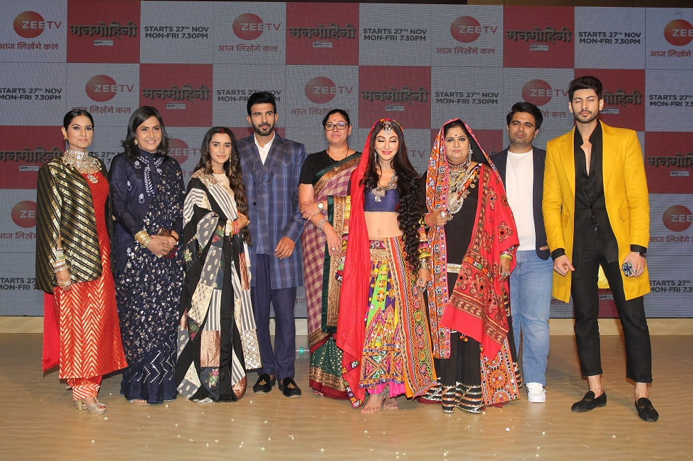 Launch of Zee TV's Manmohini 9