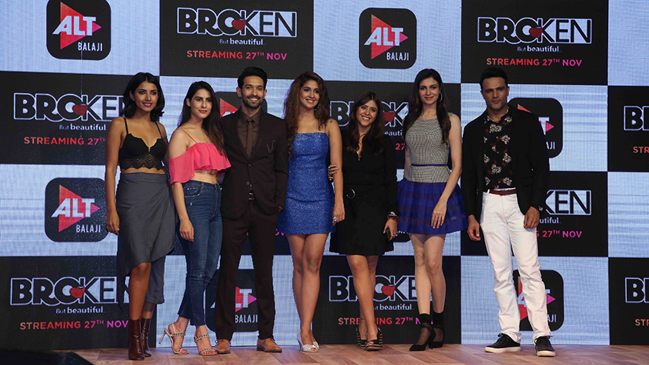ALT Balaji unveils the soulful music album of upcoming web-series Broken