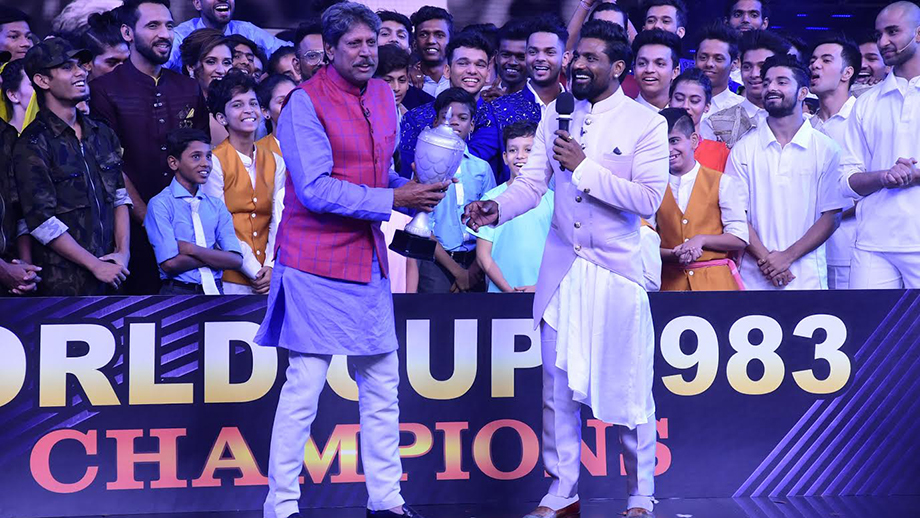 When Cricket Legend Kapil Dev was left emotional on Dance+!