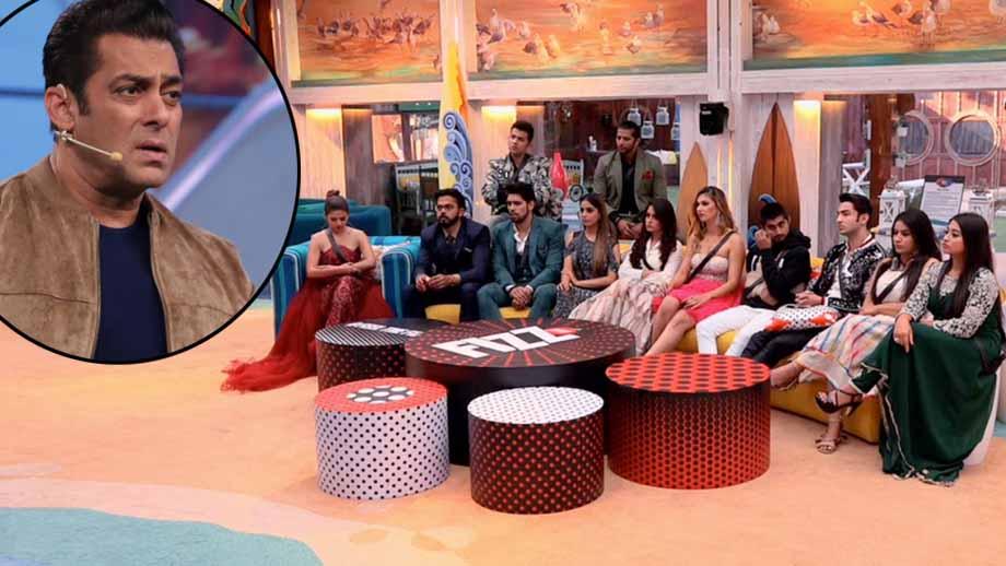 Salman Khan rages out at the contestants in Bigg Boss 12 Weekend Ka Vaar