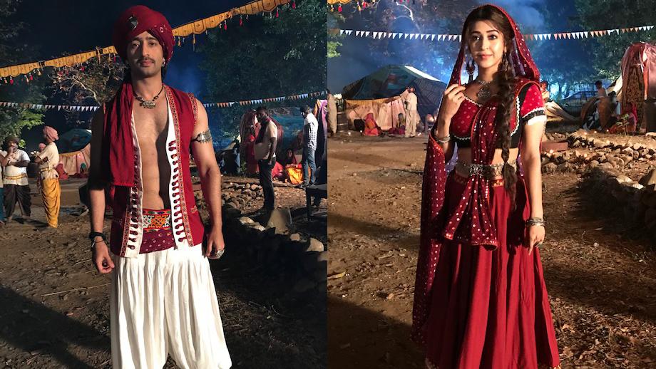 Shaheer Sheikh and Sonarika Bhadoria's 'banjara' look in Colors' Dastaan-E-Mohabbat Salim Anarkali 1
