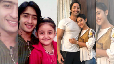 Shaheer Sheikh and Ashnoor Kaur go down the memory lane!!