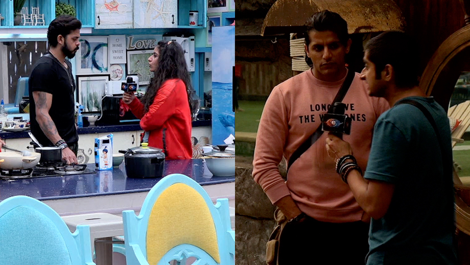 Surbhi Rana and Deepak Thakur fight it out in breaking news task in the Bigg Boss 12