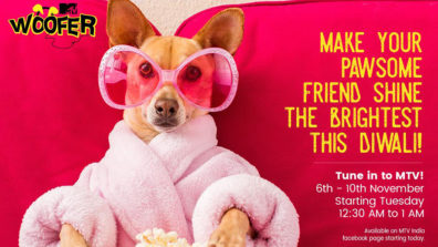 Calm your Paww-some friends this Diwali with 'MTV Woofer'