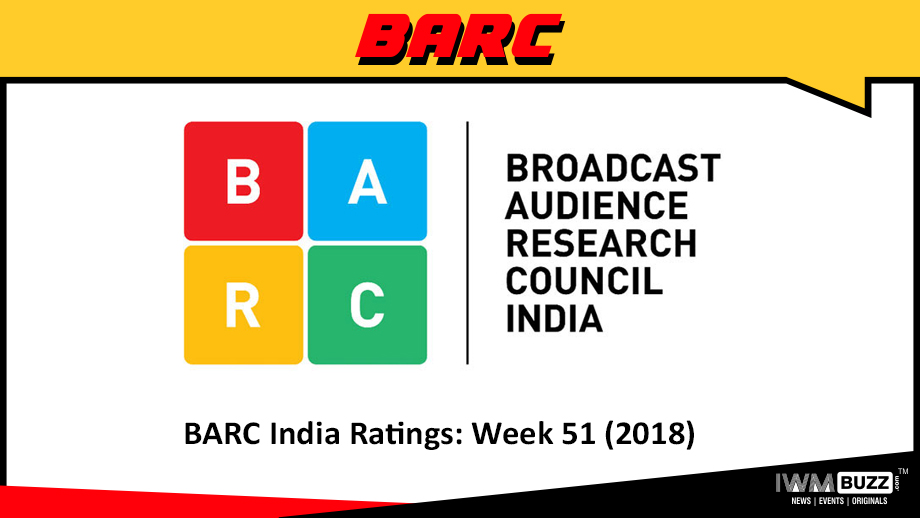 BARC India Ratings: Week 51 (2018)