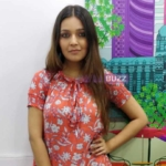 Mansi Srivastava poses after a fun LIVE chat with IWMBuzz 5