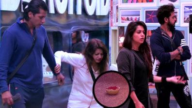 Megha's 'spooky' act in Bigg Boss 12