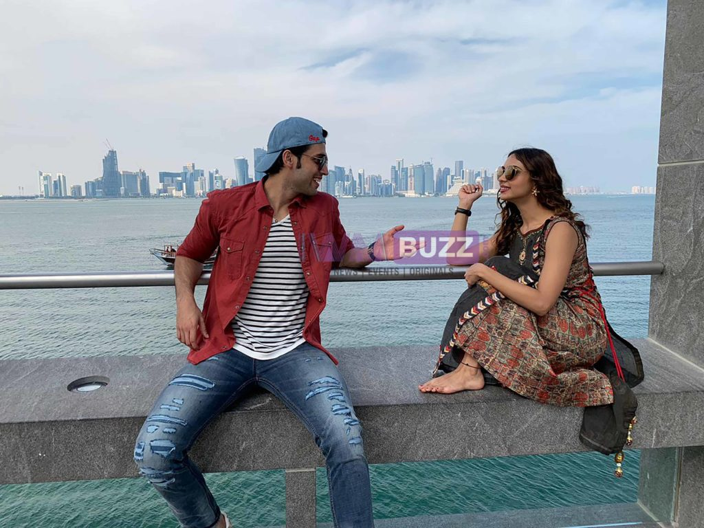 IWMBuzz Special: Reel life siblings Parth Samthaan and Pooja Banerjee holiday in Doha Qatar 2
