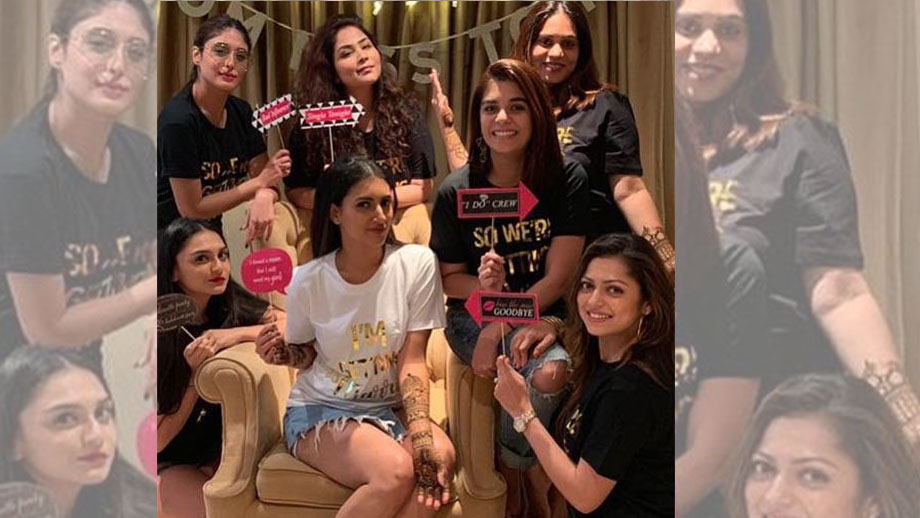 Additi Gupta's bachelorette party