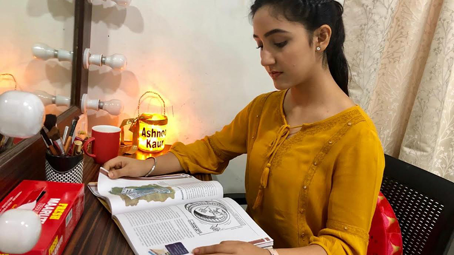 Ashnoor Kaur balances her work life and studies