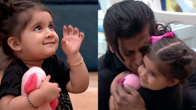 Karanvir Bohra's daughter Bella thinks her daddy lives in Salman Khan's house