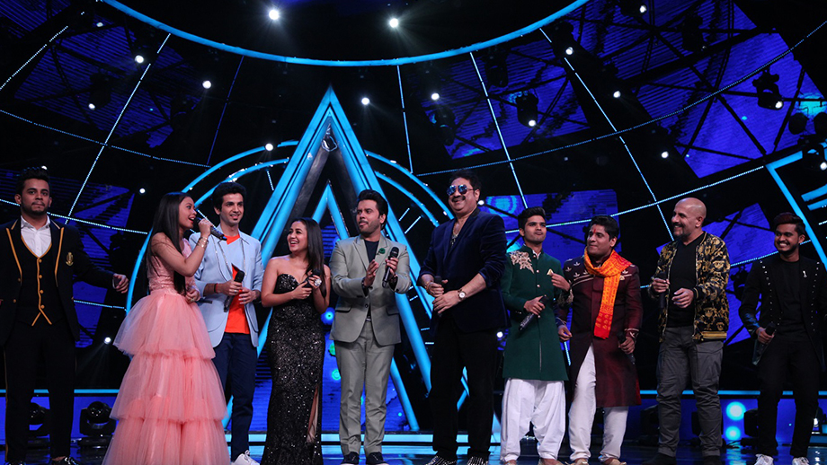Indian Idol Contestants Sing A Medley Of 50 Songs For Kumar Sanu