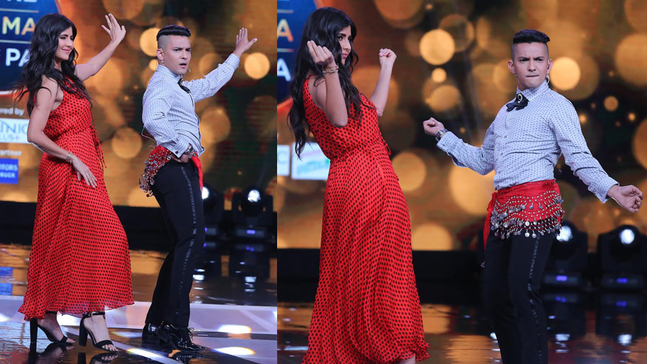 Aditya Narayan tries to belly dance his way into Katrina Kaif's heart!