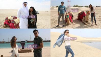 IWMBuzz Special: Reel life siblings Parth SamthaanandPoojaBanerjee holiday in Doha Qatar