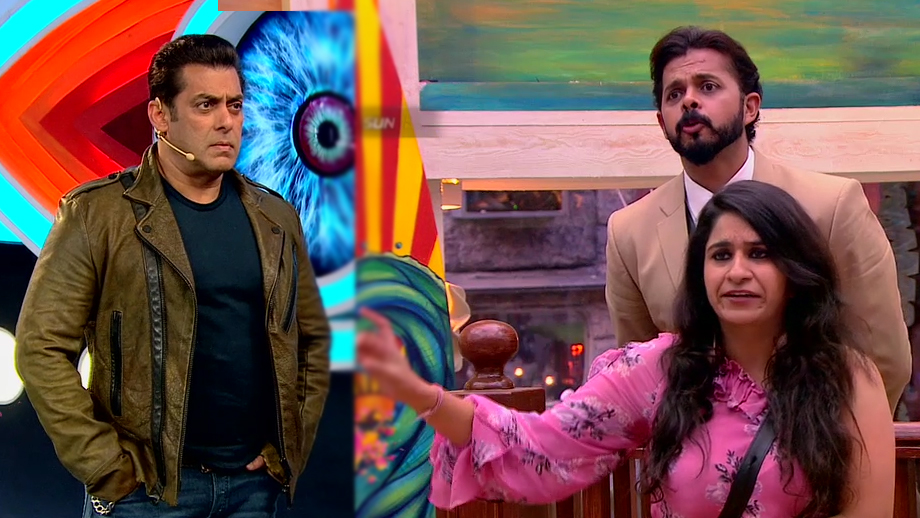 Salman Khan to lash out at Surbhi and Sreesanth