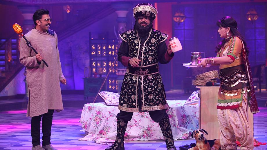 Sunil Grover dons the role of Khalji